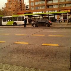 Photo taken at Paradero Escuela Militar by cami m. on 9/6/2012