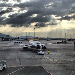 Photo taken at Sofia International Airport (SOF) by Lora R. on 7/25/2012