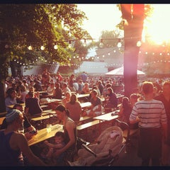 Photo taken at Pratergarten by Bryan H. on 7/31/2012