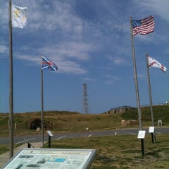 Photo taken at Fort Morgan State Historic Site by Mandy R. on 6/7/2012