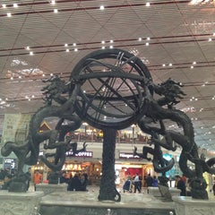 Photo taken at Beijing Capital Int'l Airport 北京首都国际机场 (PEK) by Khanut G. on 3/11/2012