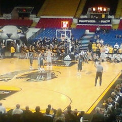 Photo taken at UW–Milwaukee Panther Arena by Brandon V. on 2/15/2012