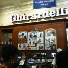 Photo taken at Ghirardelli Ice Cream & Chocolate Shop by Netta M. on 8/23/2012