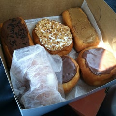 Photo taken at Pat's Donuts & Kreme Inc by K.D. M. on 4/5/2012