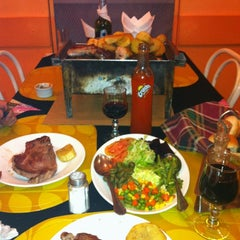 Photo taken at Parrilladas San Luis by Daniela on 8/2/2012