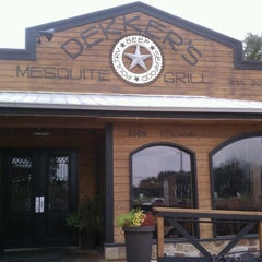 Photo taken at Dekker's Mesquite Grill by Chris H. on 6/8/2012