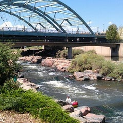 Photo taken at Confluence Park by Brian H. on 8/5/2012