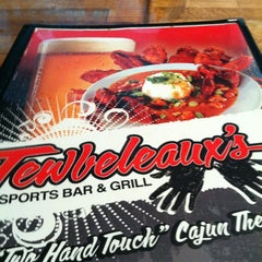 Photo taken at Tewbeleaux's Sports Bar & Grill by Terry M. on 5/12/2012