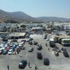 Photo taken at Λιμάνι Πάρου by Antonios Z. on 8/3/2012