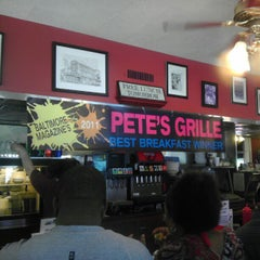 Photo taken at Pete's Grille by Jeremy K. on 4/29/2012