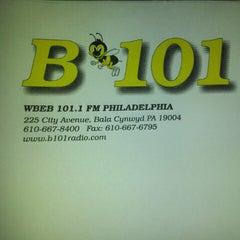 Photo taken at More FM Studios (WBEB-FM) by Robin J. on 8/28/2012