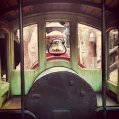 Photo taken at Big Thunder Mountain Railroad by Paul G. on 4/26/2012