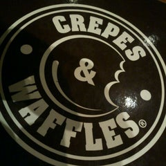Photo taken at Crepes & Waffles by David R. on 3/27/2012