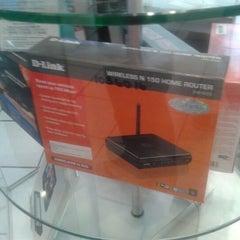 Photo taken at Telmex Camarones by Badman B. on 4/17/2012