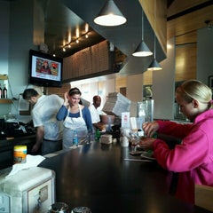 Photo taken at The Upper Crust Pizzeria by Jenna L. on 6/10/2012