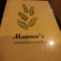 Photo taken at Maimee's Garden Café by Ricco on 2/17/2012