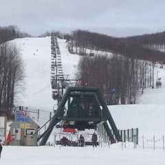 Photo taken at Whitetail Ski Resort by Michael M. on 2/10/2012