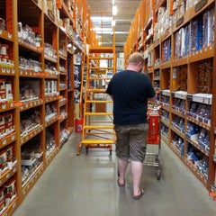 Photo taken at The Home Depot by Natalie W. on 7/30/2012