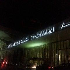Photo taken at King Fahd International Airport (DMM) مطار الملك فهد الدولي by Saeed B. on 9/10/2012