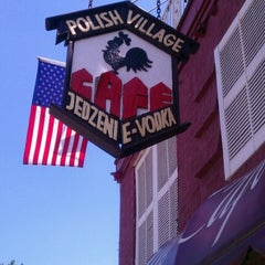 Photo taken at Polish Village Cafe by Alicia C. on 7/21/2012