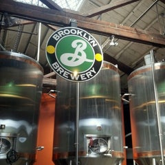 Photo taken at Brooklyn Brewery by Kirsten T. on 7/22/2012
