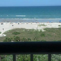 Photo taken at Resort on Cocoa Beach by Christy L. on 7/6/2012