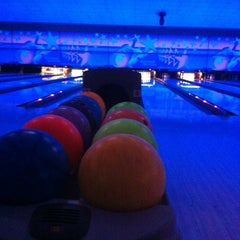 Photo taken at Cosmic Bowling by Gmz E. on 4/1/2012