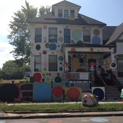 Photo taken at The Heidelberg Project by My-Ishia C. on 8/4/2012