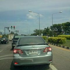 Photo taken at ปั้ม ก.ไก่ ละแม by Kai S. on 6/17/2012