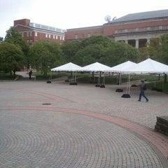 Photo taken at Hornbake Plaza by Michael C. on 4/23/2012