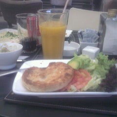 Photo taken at StarClick Café by Carla C. on 3/13/2012