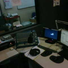 Photo taken at Sejahtera 107.3 FM by Gus T. on 2/4/2012