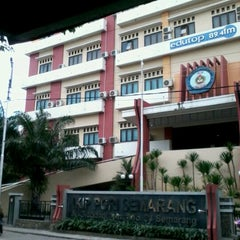 Photo taken at IKIP PGRI Semarang by Ephie B. on 5/13/2012