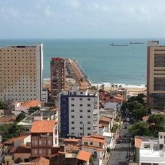 Photo taken at Praia Centro Hotel Fortaleza by Rafael T. on 3/23/2012