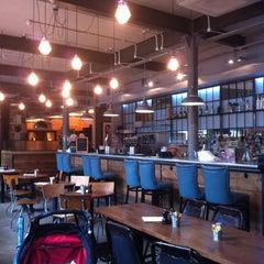 Photo taken at Sam's Brasserie & Bar by Nick P. on 6/27/2012