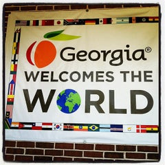 Photo taken at Georgia Welcome Center by J L. on 7/8/2012