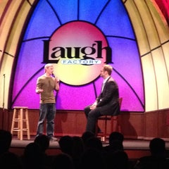 Photo taken at Laugh Factory by Julie M. on 5/9/2012