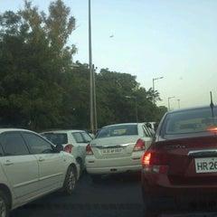 Photo taken at BRT Corridor by Nishant D. on 5/28/2012