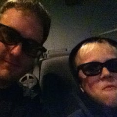Photo taken at Marcus South Pointe Cinema by Bryan D. on 3/3/2012