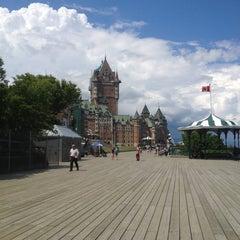 Photo taken at Terrasse Dufferin by Imane E. on 6/23/2012