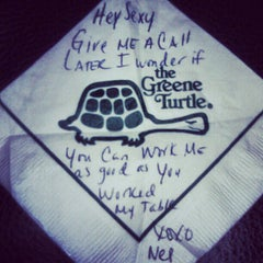 Photo taken at The Greene Turtle by Eric P. on 6/7/2012