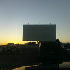 Photo taken at Mission Tiki Drive-In Theatre by marcy g. on 7/8/2012
