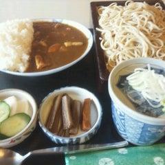 Photo taken at 筑波やぶ by jboy on 8/31/2012