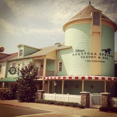 Photo taken at Disney's Saratoga Springs Resort & Spa by Laura H. on 5/7/2012