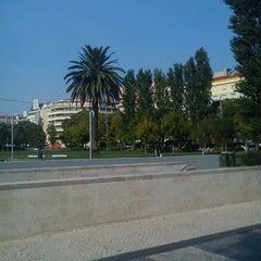 Photo taken at Jardim do Arco do Cego by Alonso P. on 9/3/2012
