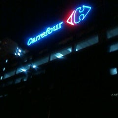 Photo taken at Carrefour Bus Stop by Fadzil F. on 6/23/2012
