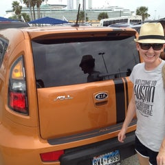 Photo taken at Cruise Terminal Lot B by Ryan P. on 4/15/2012