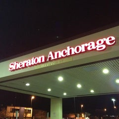 Photo taken at Sheraton Anchorage Hotel & Spa by Evan[Bu] on 8/30/2012