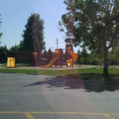 Photo taken at Portage Creek Bicentennial Park by Wendy C. on 5/23/2012