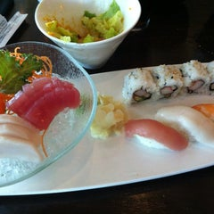 Photo taken at Sushi Siam by Sam S. on 7/20/2012